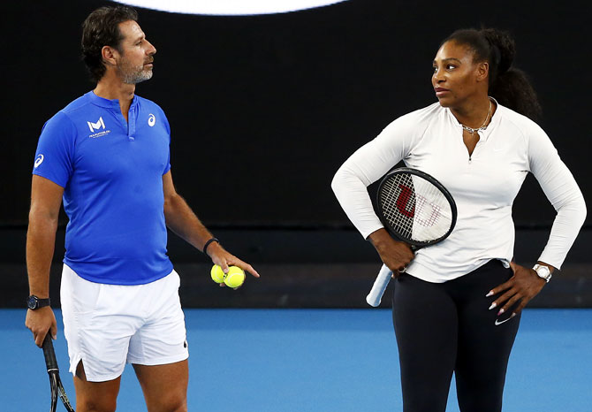 Serena's coach on why 'tennis needs change'