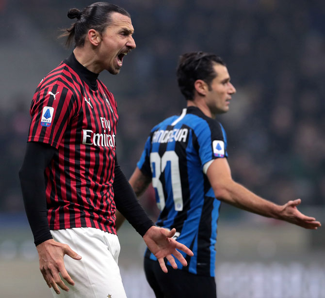 AC Milan to take on Inter Milan in 'virtual derby'