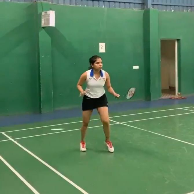 Badminton player Sikki's second COVID test negative