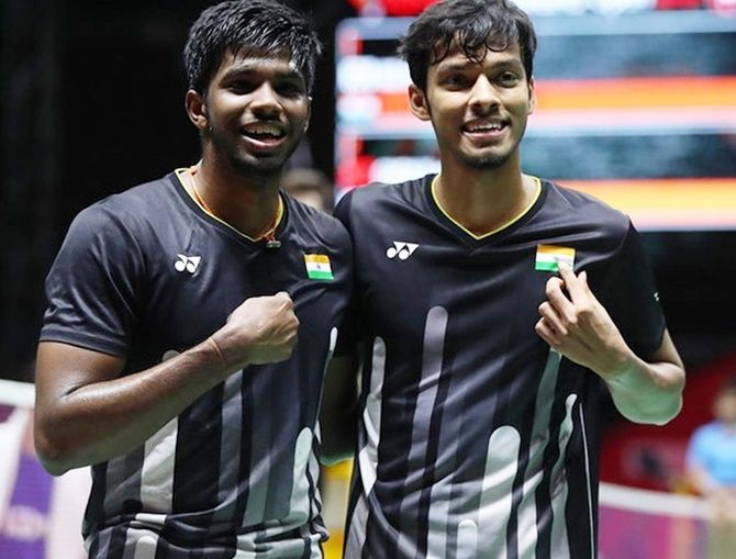 Satwiksairaj Rankireddy and Chirag Shetty, who have been working under Danish coach Mathias Boe for the last few months, dished out a tactical superior game and held their nerves in the final moments to emerge victorious during the one hour and nine minutes contest, which turned out to be an edge-of-the-seat thriller.