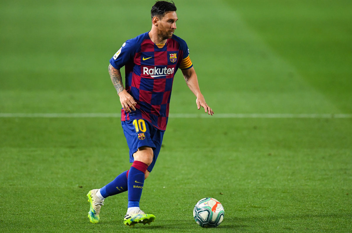 Football: Playing without fans horrible, says Messi