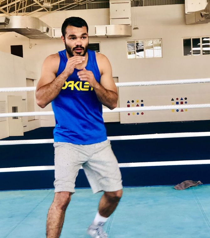 Vikas Krishan believes that it will be third time lucky for him at the Tokyo Games
