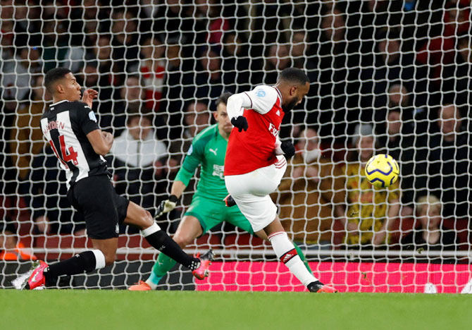 EPL: Arsenal crush Newcastle; Son double sinks Villa
