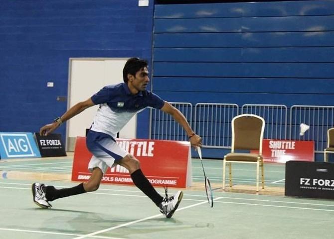 Three Indians qualify for Paralympics badminton event