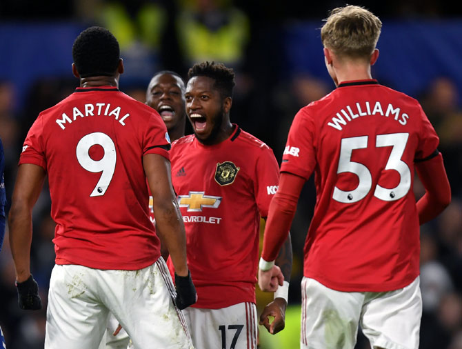 Manchester United down Chelsea amid VAR controvesy