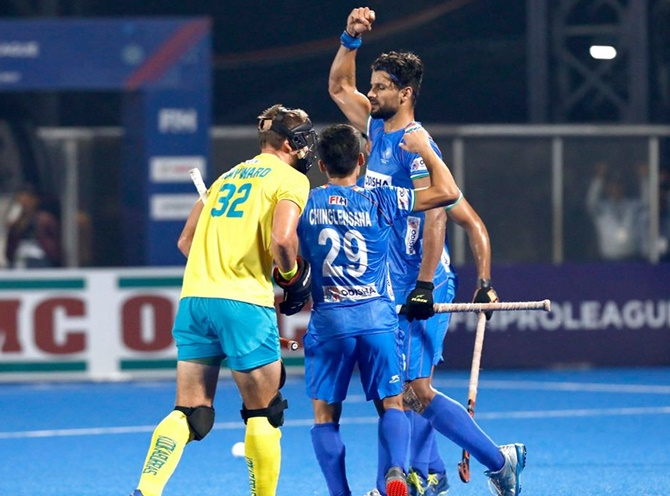 FIH Pro League: India stun Australia via shoot-out
