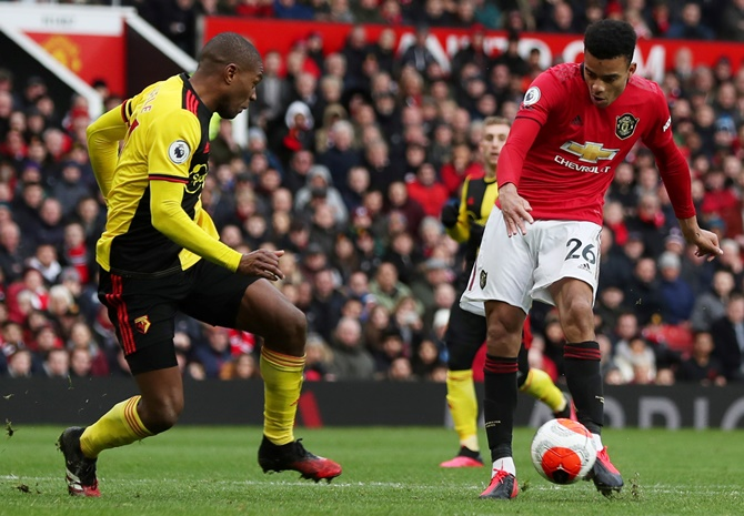 EPL: United outclass Watford to stay in top-four hunt