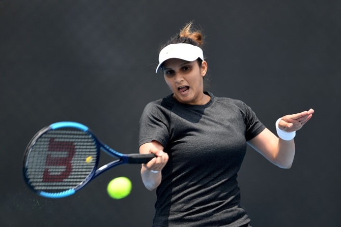 Sania-Garcia in Dubai Open pre-quarters