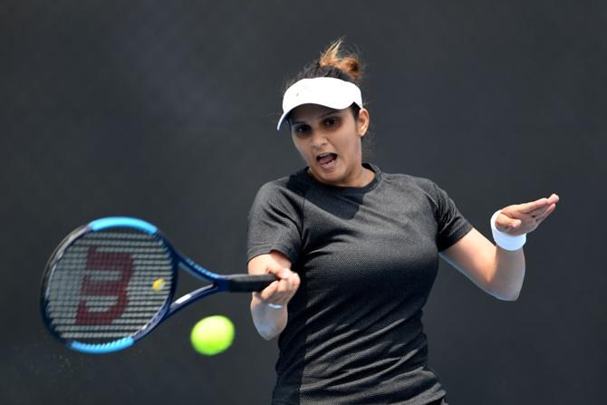 Sania exits Australian Open with calf injury