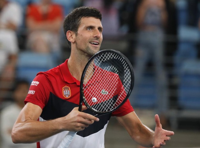 Spanish club apologises to Djokovic over confusion