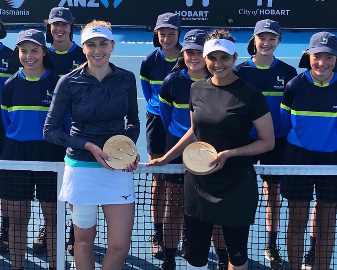 Title for amazing Sania on comeback in Hobart