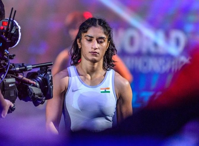 The officials who were in Tokyo told PTI that Vinesh Phogat had created ruckus when she was allotted a room near those of her Indian team-mates -- Sonam, Anshu Malik and Seema Bisla -- arguing that she might contract coronavirus since these wrestlers travelled to Tokyo from India.