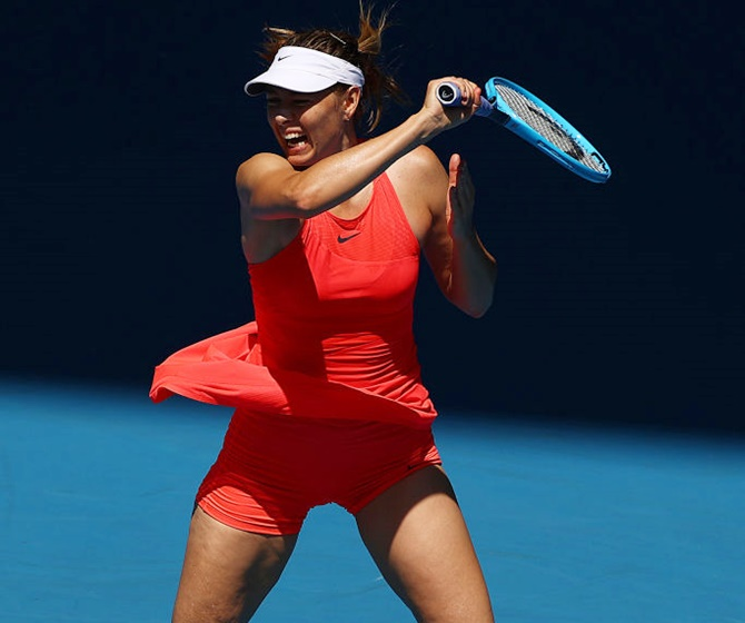 Aus Open: Sharapova vanquished; Konta makes early exit
