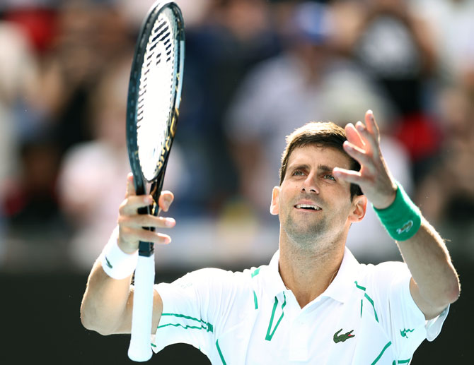 Aus Open PIX: Djokovic breezes past Nishioka