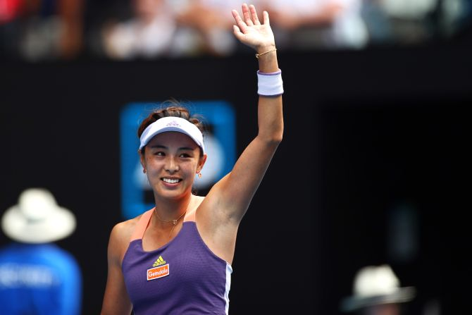 Wang avenges New York loss with Serena ouster