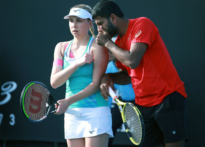 India @Aus Open: Bopanna advances in mixed doubles