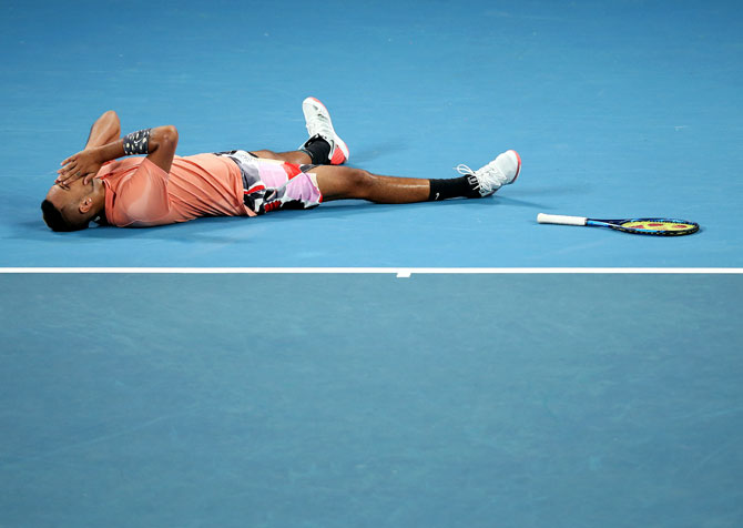 PHOTOS: Kyrgios prevails in epic to set up Nadal clash
