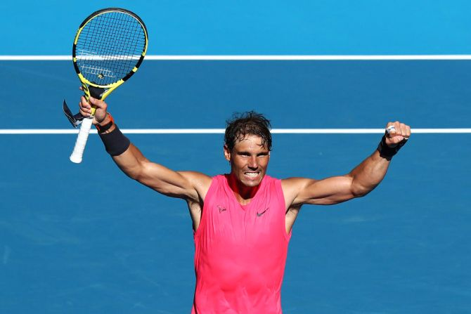 Aus Open PIX: Nadal, Halep advance; Pliskova ousted