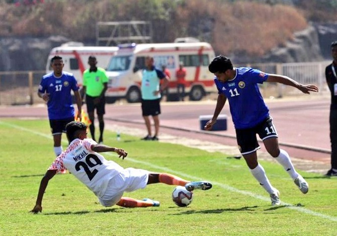 Indian Soccer: Real Kashmir beat Indian Arrows
