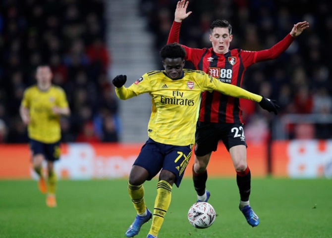 FA Cup: Teenager Saka helps Arsenal into fifth round