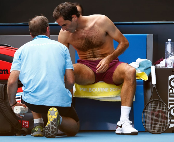 Federer hopes to recover from groin problem