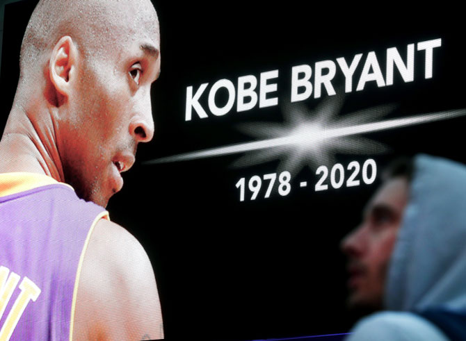 Revealed! Final moments of Kobe's helicopter crash