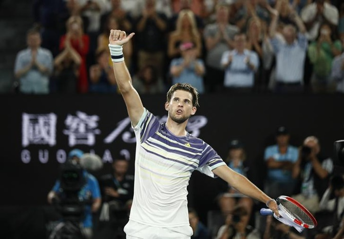 AO PHOTOS: Thiem stuns Nadal, meets Zverev in semis