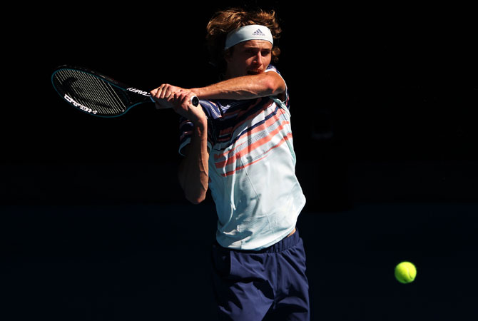 PHOTOS: Zverev breaks Grand Slam semis barrier