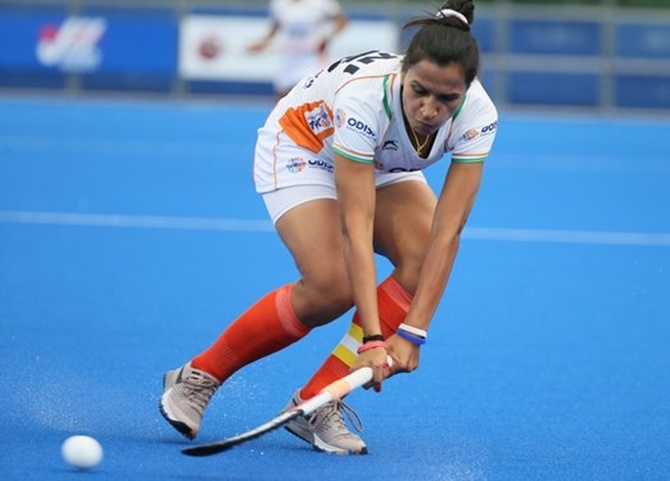 Hockey captain Rani recommended for Khel Ratna