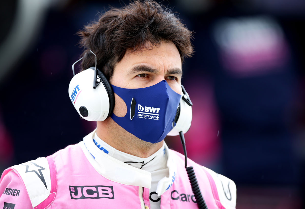 Perez waiting on COVID test for clearance to race