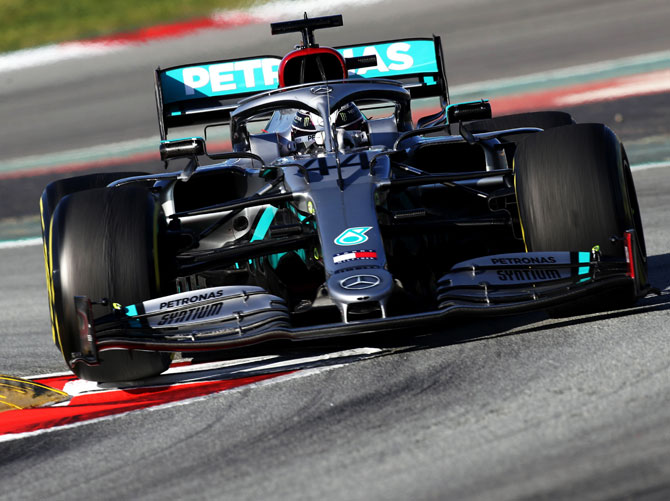 Hamilton back on track next week in Mercedes F1 test