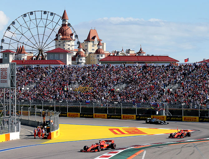 Sochi open to Russian F1 race double-header