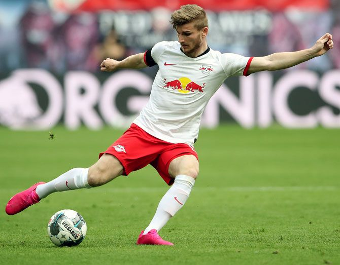 Chelsea had made the first major transfer move ahead of next season, signing German striker Timo Werner from RB Leipzig last month.