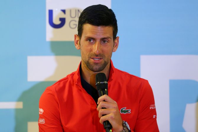 Djokovic said the idea behind his tournament was noble and he wanted to raise funds for players in need.