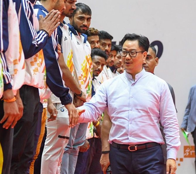 Sports Minister Kiren Rijiju reiterated that resumption of sporting activities will entirely depend on guidelines of respective states and local administrations.