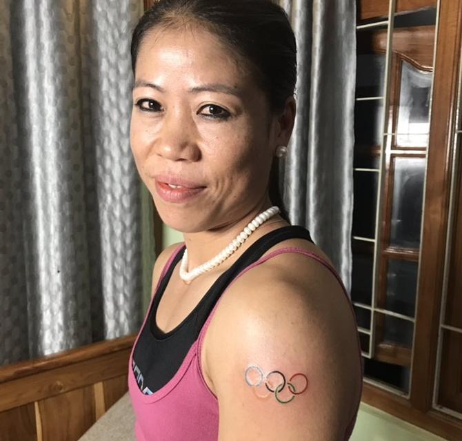 Mary Kom, Manpreet flagbearers at Tokyo Games opening