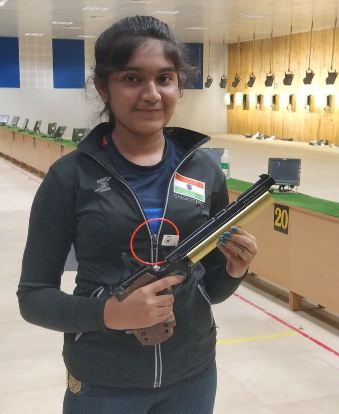 India's 15-year-old champion shooter Esha Singh