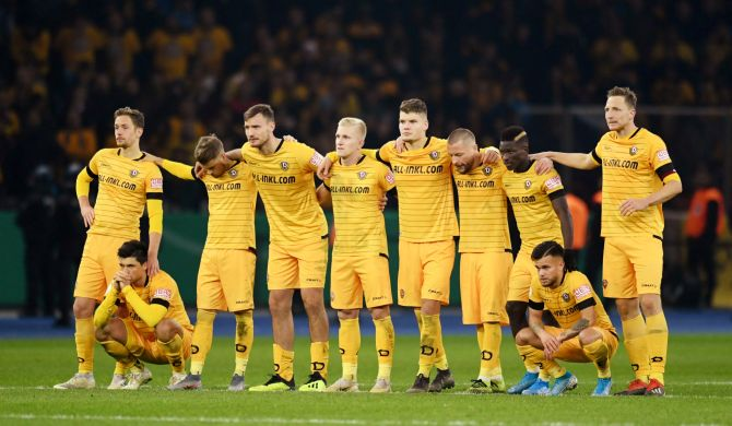 Dynamo Dresden were scheduled to play Hanover 96 next Sunday in their first game back following the stoppage that was caused by the coronavirus outbreak.