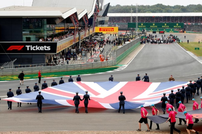 F1: Impossible to organise British Grand Prix