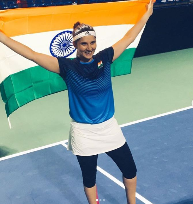 Sania Mirza made a comeback to Fed Cup after four years and helped India qualify for the play-offs for the first time in history