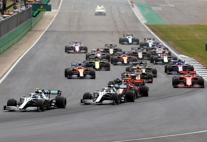 F1 teams to be limited to 80 people at closed races