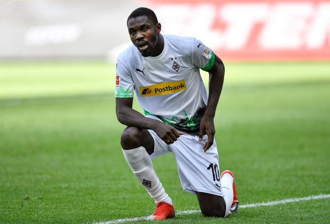 Bundesliga: Thuram, Plea dazzle as Gladbach rout Union