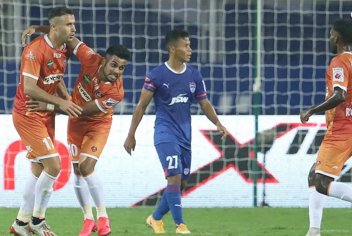 ISL: Angulo's brace helps Goa hold Bengaluru