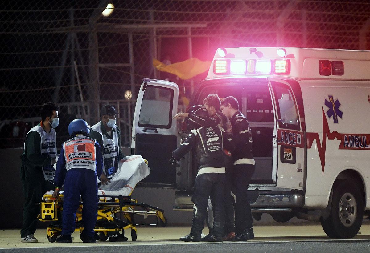 FIA probes Grosjean's crash