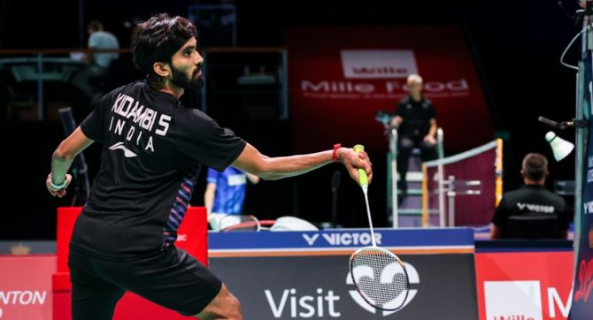 The fifth seeded Kidambi Srikanth will face either fellow Indian Subhankar Dey or Canada's Jason Anthony Ho-Shue in the next round.