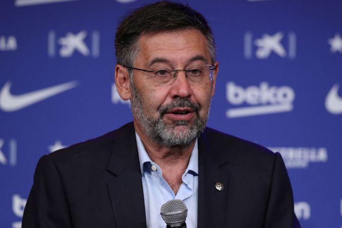 Former Barca president Josep Maria Bartomeu