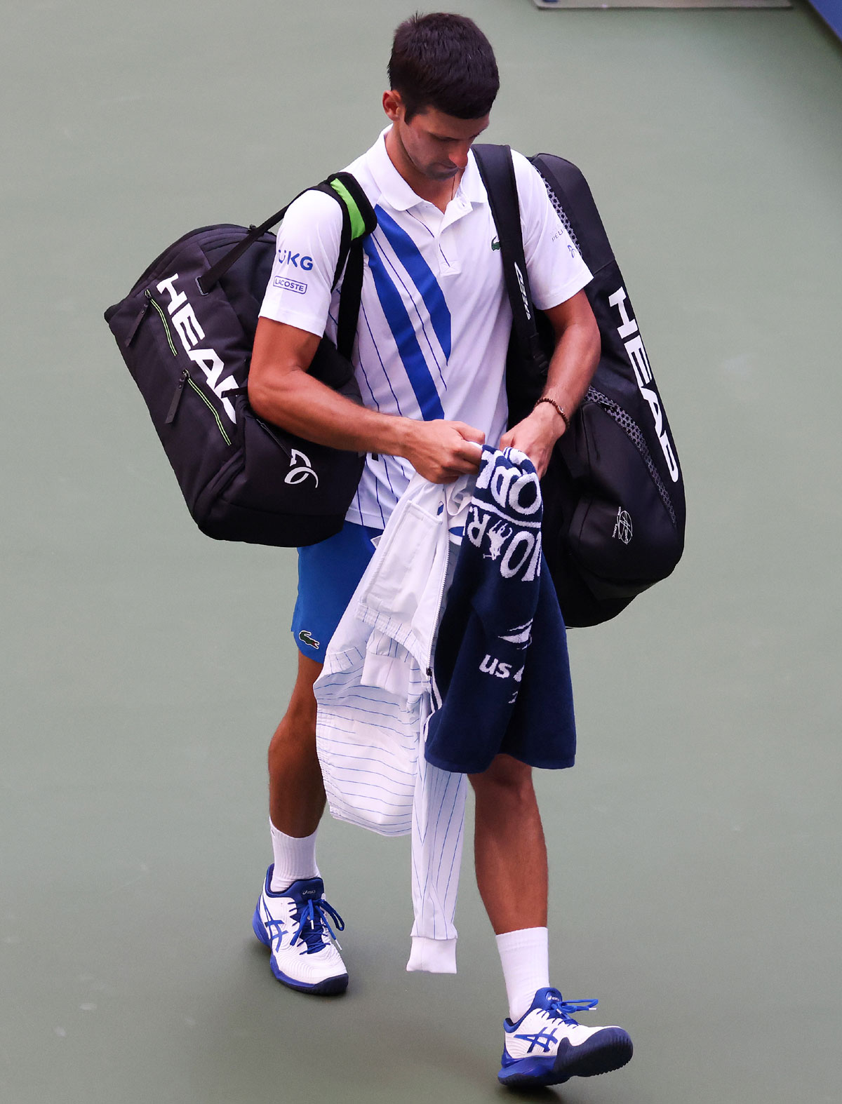 Djokovic Sad And Empty After Us Open Disqualification Rediff Sports
