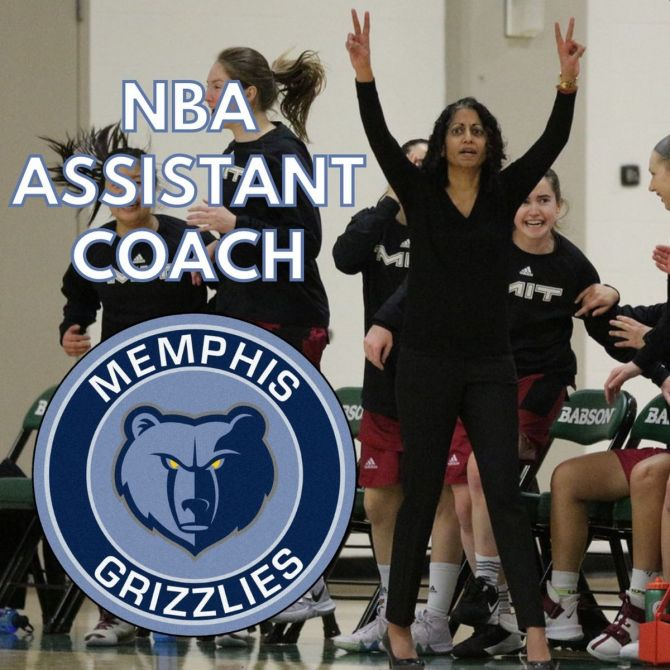 Sonia Raman becomes the 14th female assistant coach in the history of the NBA and the 10th among current coaching staffers in the league