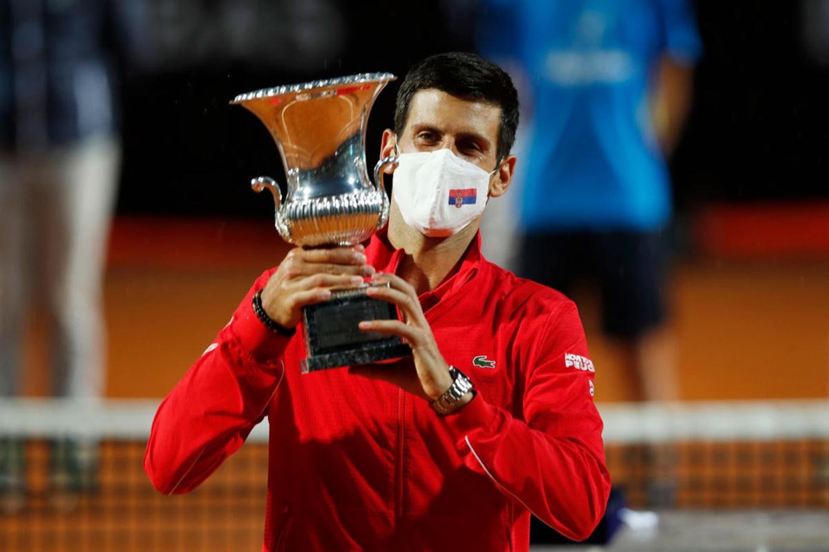 Djokovic Wins Fifth Italian Open To Make Masters History Rediff Sports