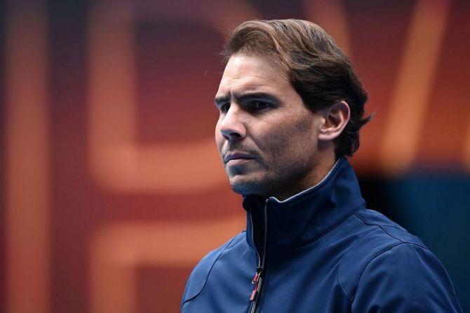 Rafael Nadal sits level with Roger Federer on 20 Grand Slam titles and, with the Swiss not taking part in Melbourne after knee surgery, the Spaniard would have the chance to become the all-time major record holder in the men's game for the first time.